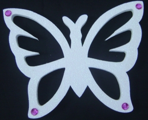 polystyrene--butterfly-cut-out