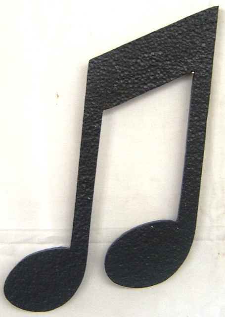 polystyrene--music-double-note