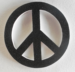 polystyrene-peace-sign