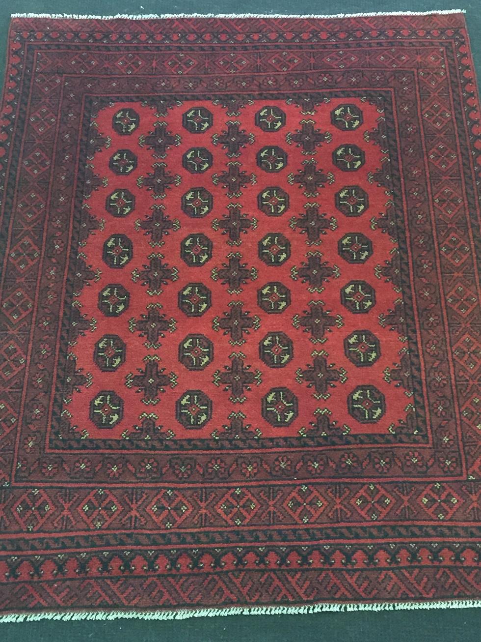 Red Afghan Persian Carpets Fourways Fern Persian Carpet